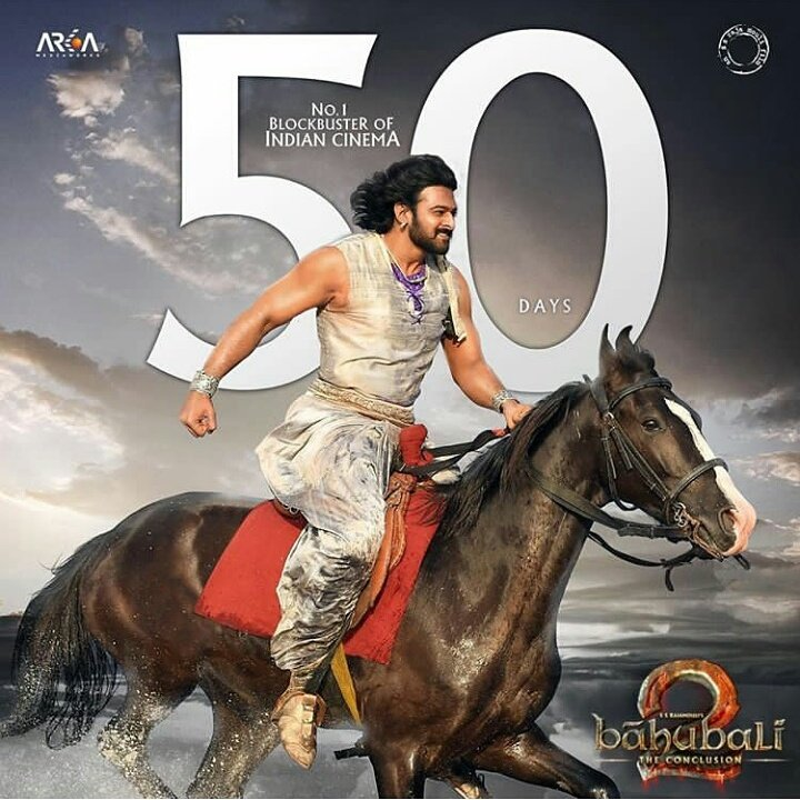 Bahubali 2 – The Conclusion completes 50 days at the box office