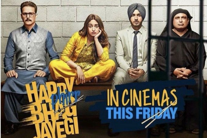 Happy Phirr Bhag Jayegi Box Office Collection Day 1 : Movie Has a Poor Opening